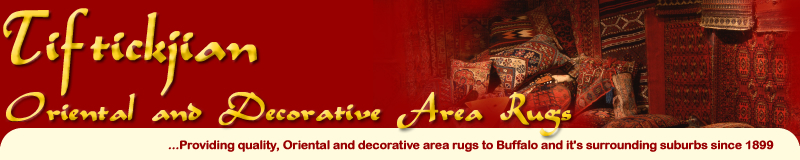 Tiftickjian Oriental Rugs - Providing Oriental and Decorative area rugs to Buffalo and it's surrounding suburbs since 1899